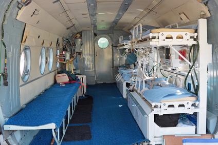 医療搬送チャーター機イメージ